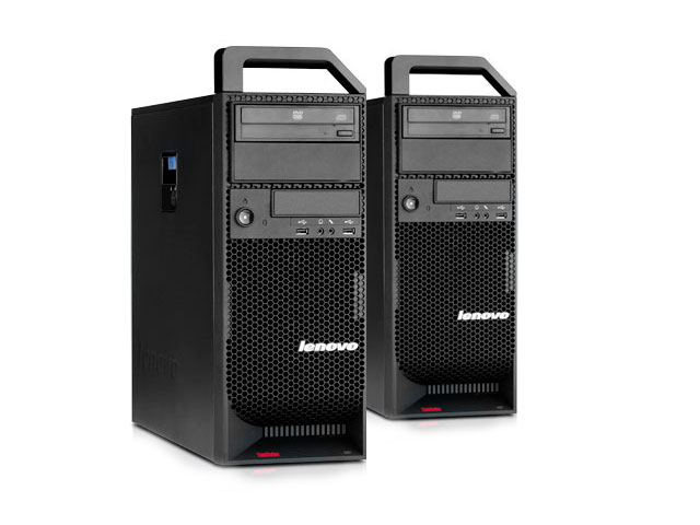 "Рабочая станция Lenovo Thinkstation S30 TYPE 4352 Xeon E5-2667v2 24Gb 10600R VC Quadro FX1800, 768Mb 4x3.5"" DVD PSU 600W"