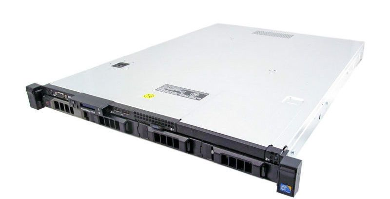 "Подробное фото Сервер DELL PowerEdge R410 2*Xeon E5620 Ram 16Gb DDR3 H700 4*noHDD 3,5"" DVD 2*PSU 500W"