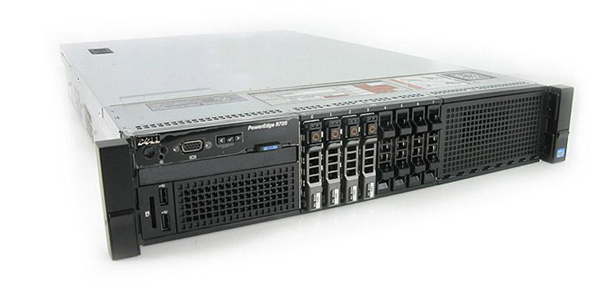"Подробное фото Сервер DELL PowerEdge R820 4*Xeon E5-4650v2 128Gb 12800R DDR3 8x noHDD 2.5"" SAS RAID Perc H310, DVD, 2*PSU 1100W"